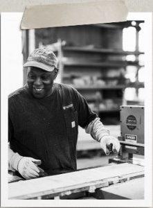 Bernard at work